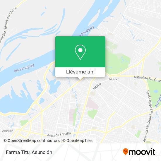 Mapa de Farma Titu