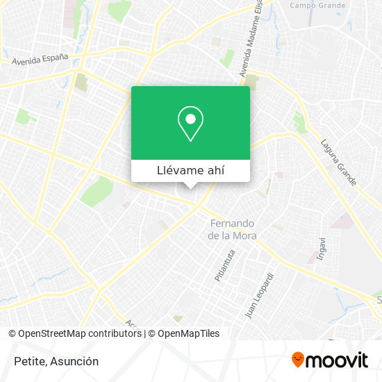 Mapa de Petite
