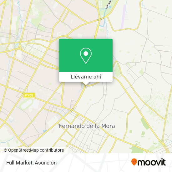 Mapa de Full Market
