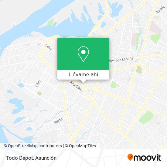 Mapa de Todo Depot