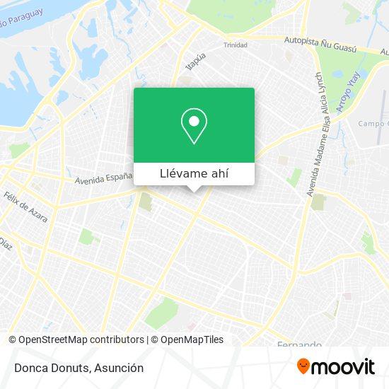 Mapa de Donca Donuts