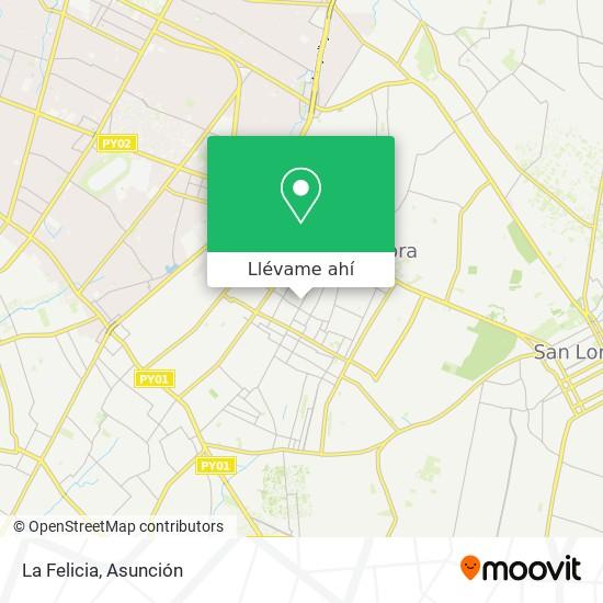 Mapa de La Felicia