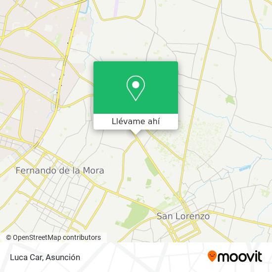 Mapa de Luca Car