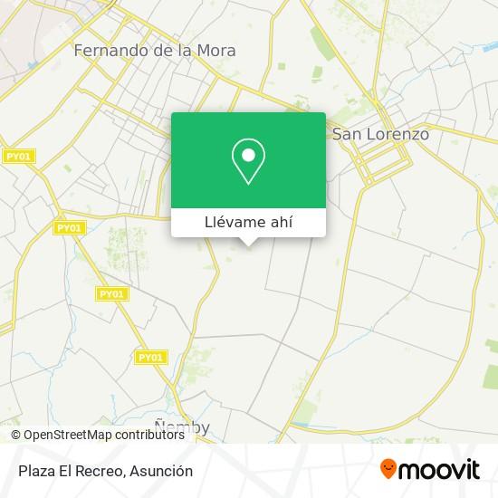 Mapa de Plaza El Recreo
