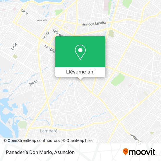 Mapa de Panadería Don Mario