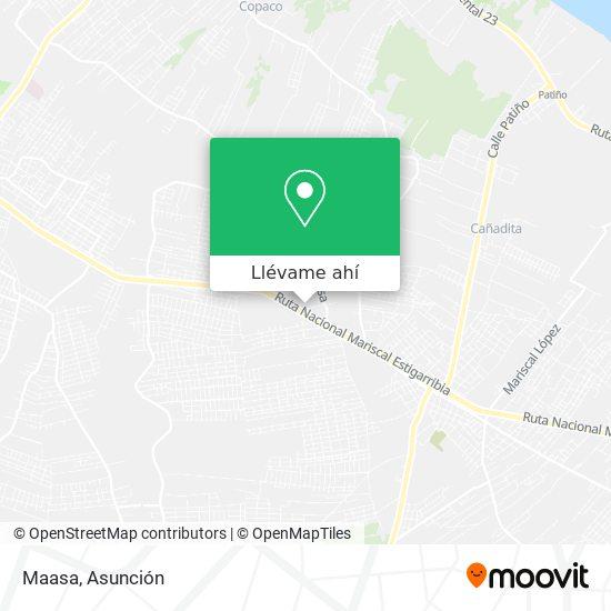 Mapa de Maasa