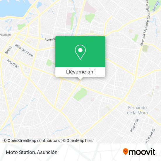 Mapa de Moto Station