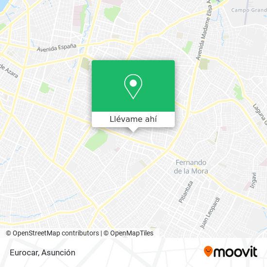 Mapa de Eurocar