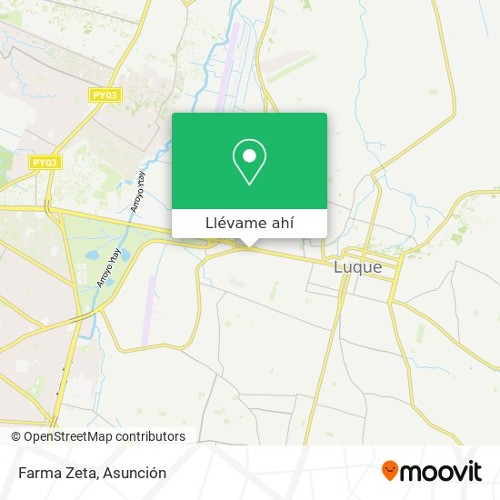 Mapa de Farma Zeta