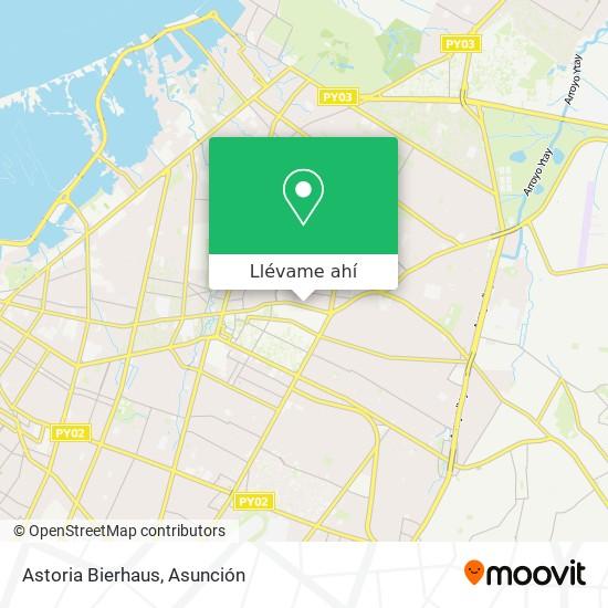 Mapa de Astoria Bierhaus