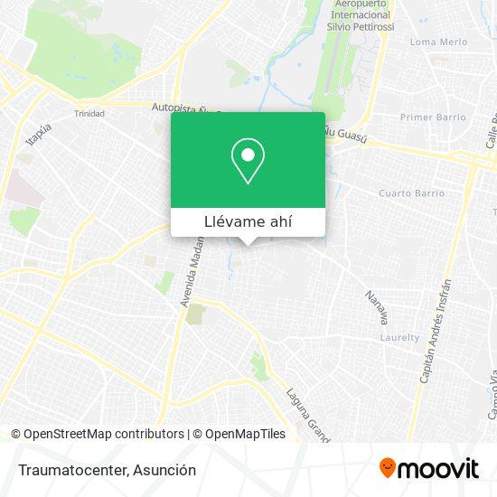 Mapa de Traumatocenter