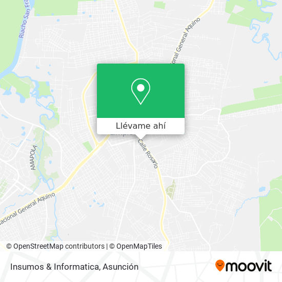 Mapa de Insumos & Informatica
