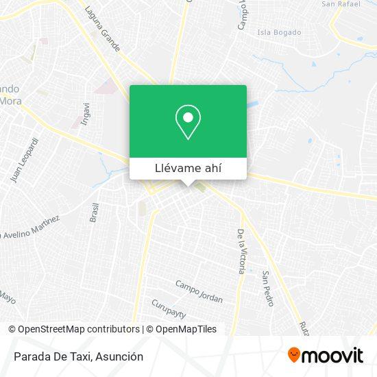 Mapa de Parada De Taxi
