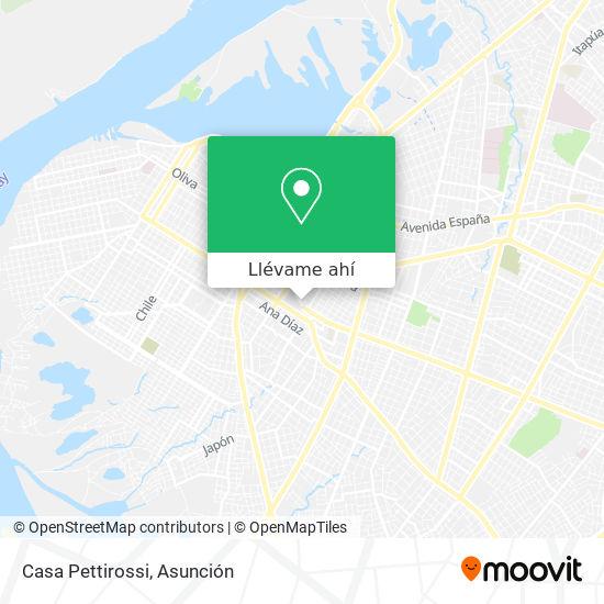 Mapa de Casa Pettirossi