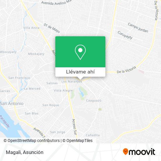 Mapa de Magali