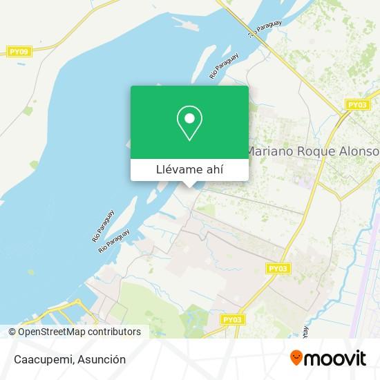Mapa de Caacupemi