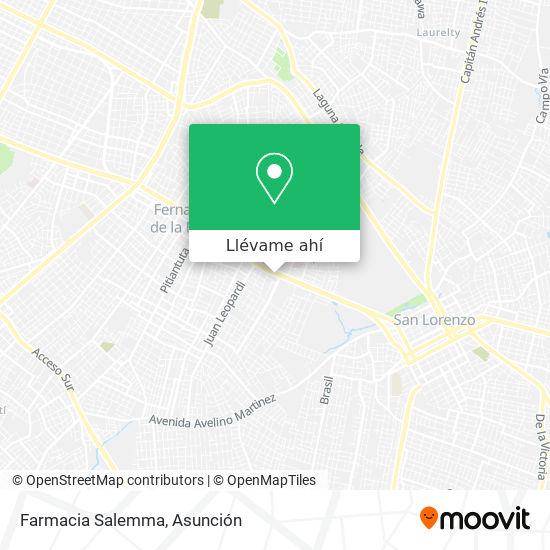 Mapa de Farmacia Salemma