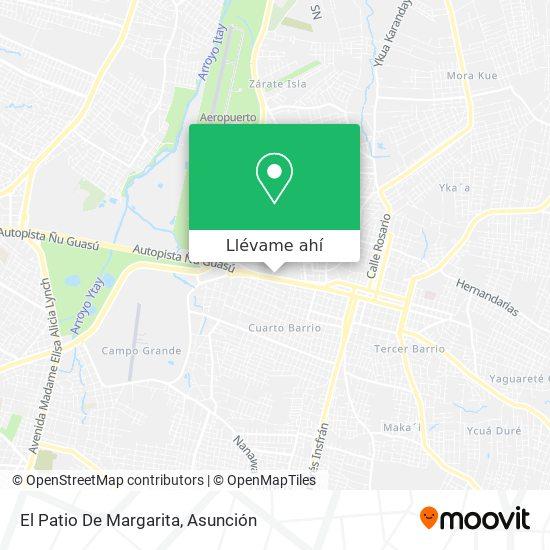 Mapa de El Patio De Margarita