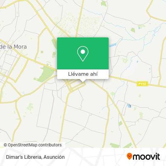 Mapa de Dimar's Libreria