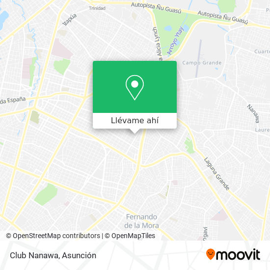 Mapa de Club Nanawa