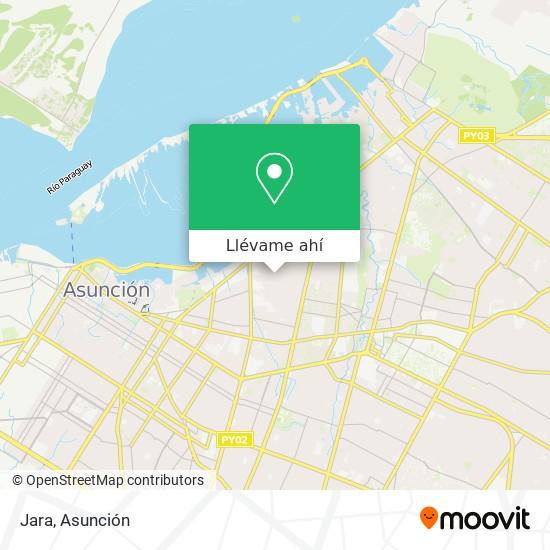 Mapa de Jara