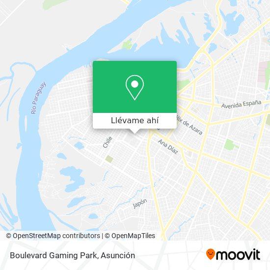 Mapa de Boulevard Gaming Park