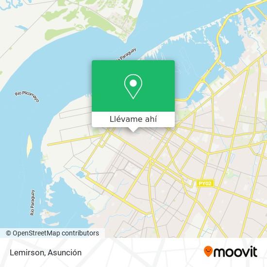 Mapa de Lemirson