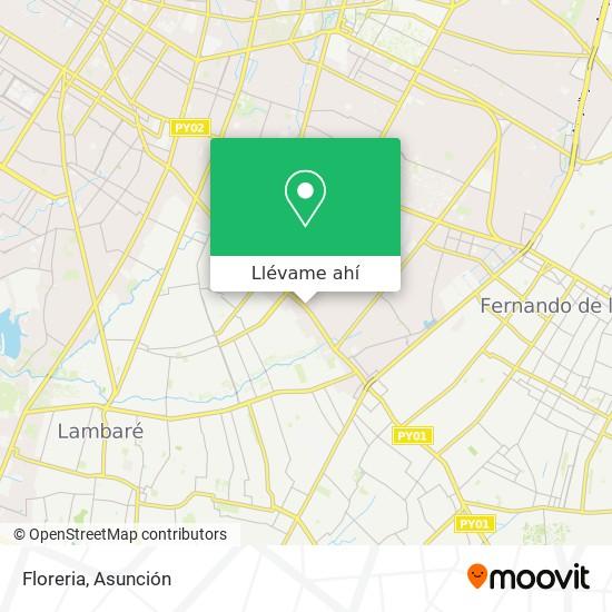Mapa de Floreria