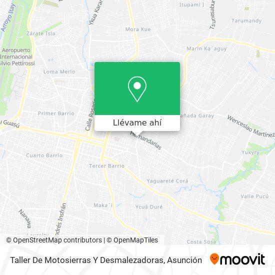 Mapa de Taller De Motosierras Y Desmalezadoras