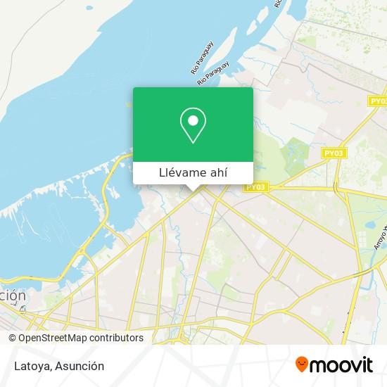 Mapa de Latoya