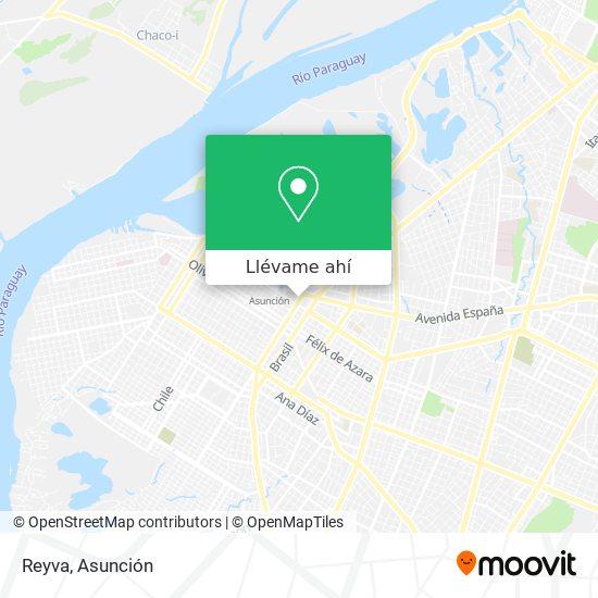 Mapa de Reyva