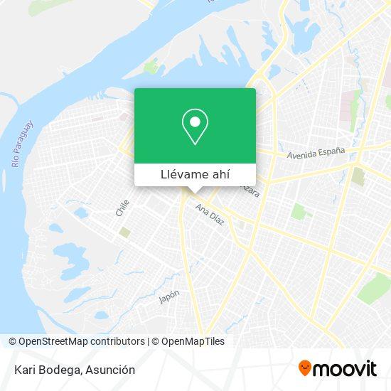 Mapa de Kari Bodega