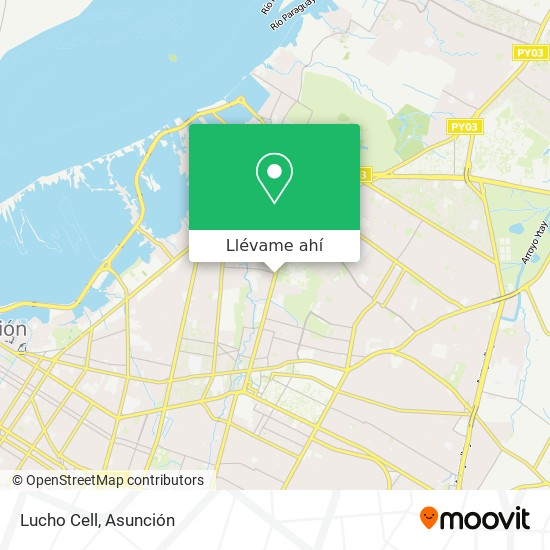 Mapa de Lucho Cell