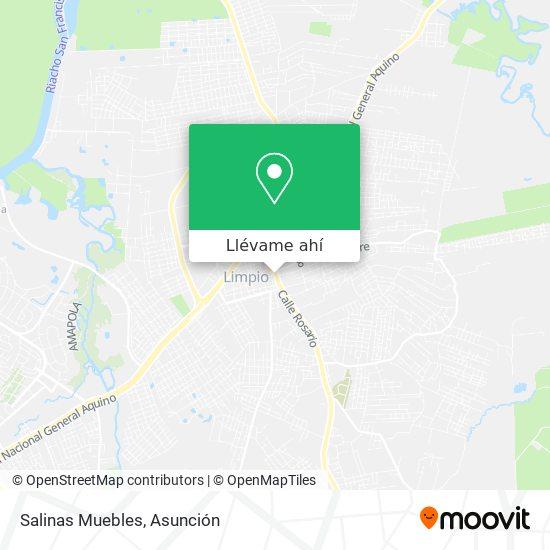 Mapa de Salinas Muebles