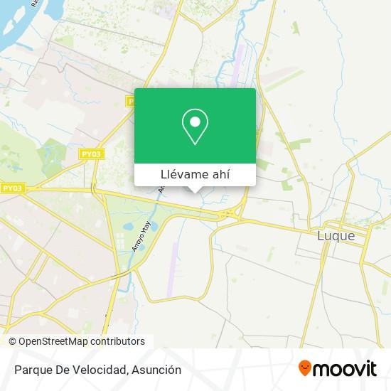Mapa de Parque De Velocidad