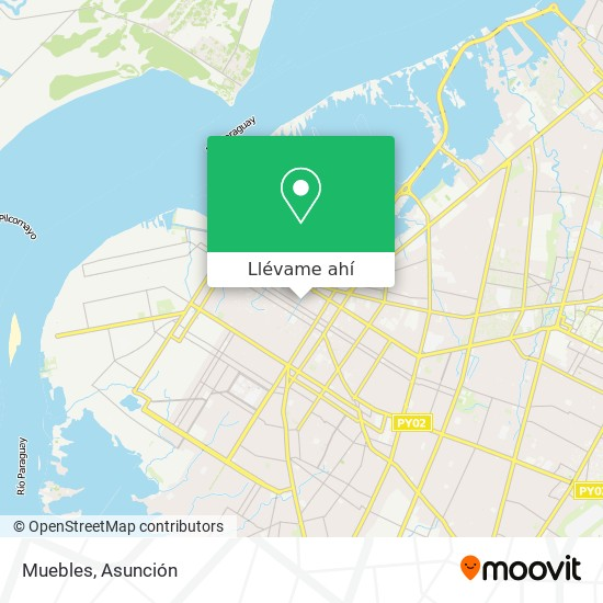 Mapa de Muebles