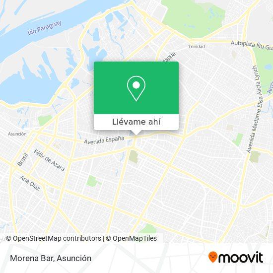 Mapa de Morena Bar