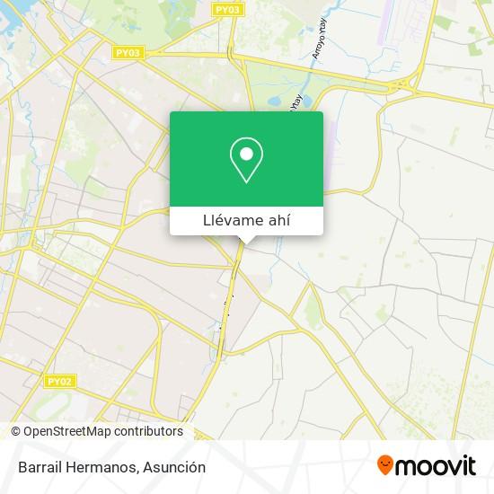 Mapa de Barrail Hermanos