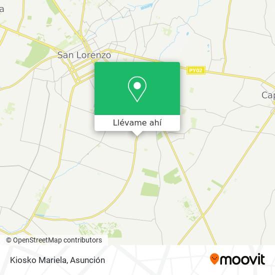Mapa de Kiosko Mariela