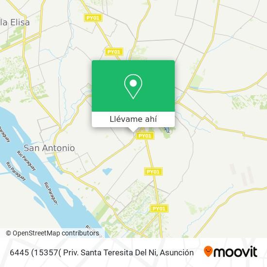 Mapa de 6445 (15357( Priv. Santa Teresita Del Ni