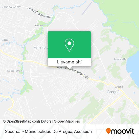 Mapa de Sucursal - Municipalidad De Aregua