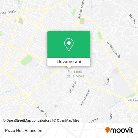 Mapa de Pizza Hut