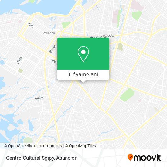 Mapa de Centro Cultural Sgipy