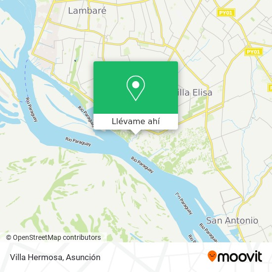 Mapa de Villa Hermosa