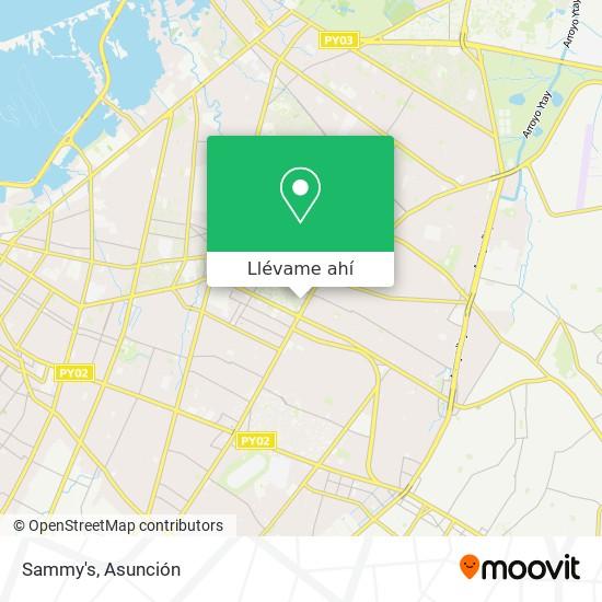 Mapa de Sammy's