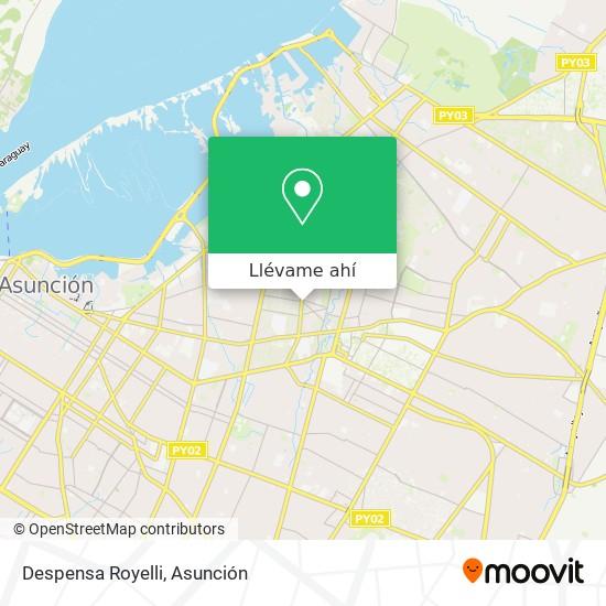 Mapa de Despensa Royelli