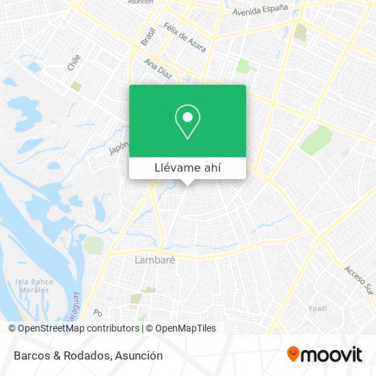 Mapa de Barcos & Rodados