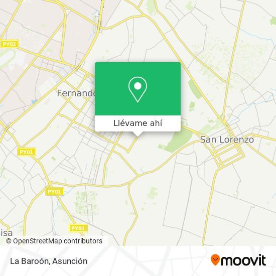 Mapa de La Baroón
