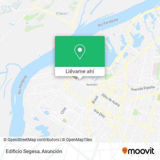 Mapa de Edificio Segesa
