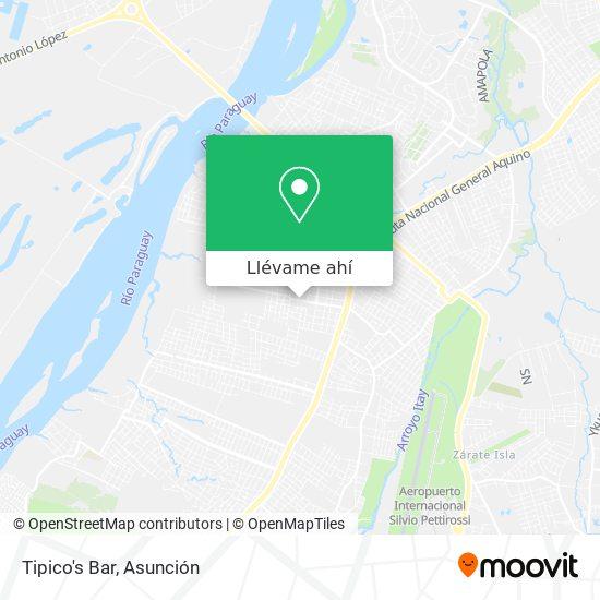Mapa de Tipico's Bar